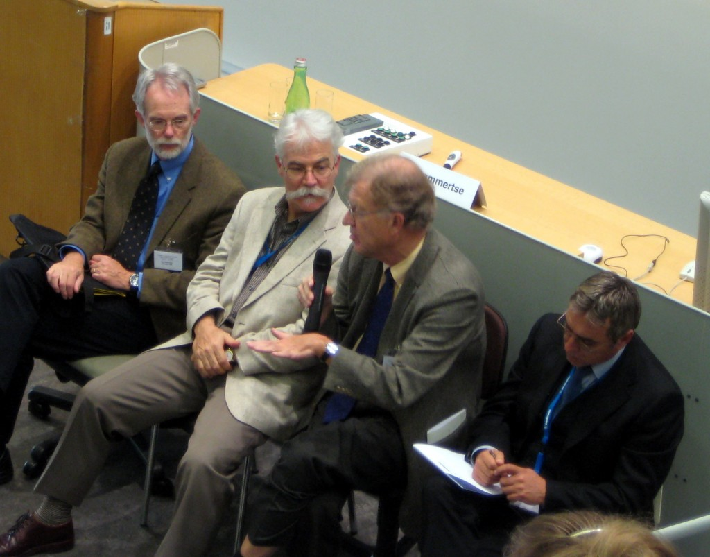 discussants at the Summer School, October, 2008